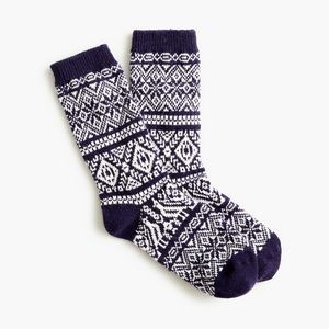 Jacquard Thick Weave Winter Socks