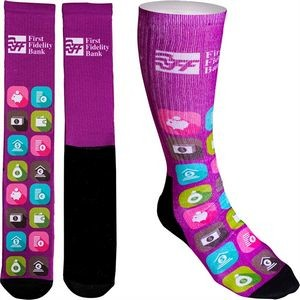 Full Color Crew Promo Socks
