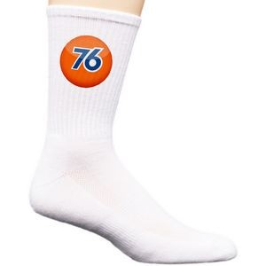 Dye Sublimation Mid-Calf Crew Sock