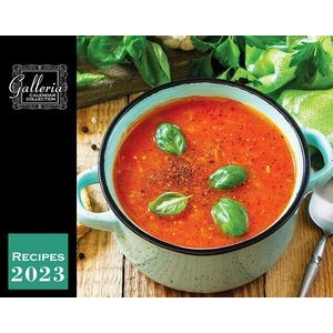 Galleria Wall Calendar 2020 Recipes (SOLDOUT)