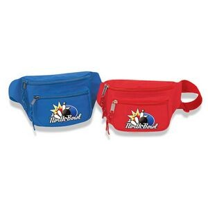 Poly 3 Zipper Fanny Pack