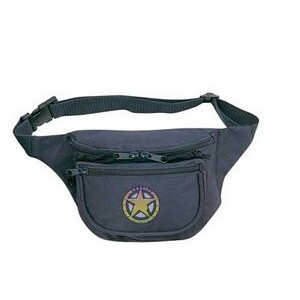 Polyester 3 Pocket Fanny Pack