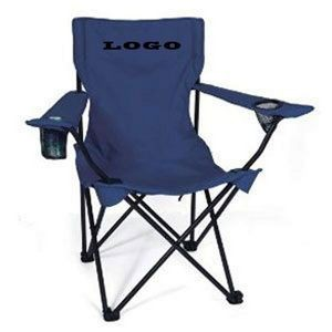 Folding Chair w/ Arm Rests & Carrying Case